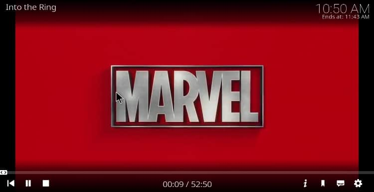 Streaming using The Mad Titan Kodi Addon after the install